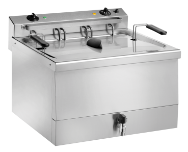Elektro-Backwaren-Friteuse FT18B - 18 Liter - 400V